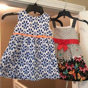 Cute toddler girl dresses 24mo/2t